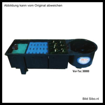Aquaforte Vortec Mehrkammerfilter Komplett-Set bis 30000 Liter